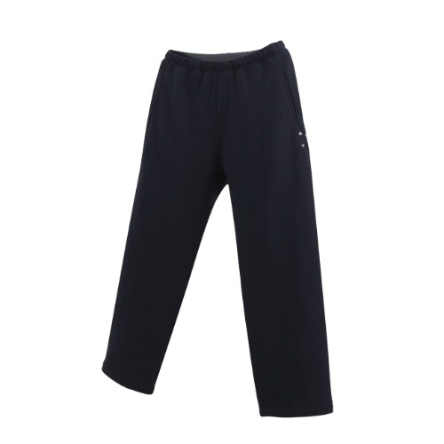 NIGHT / VOX WIDE SWEAT PANTS / DEEP NAVY
