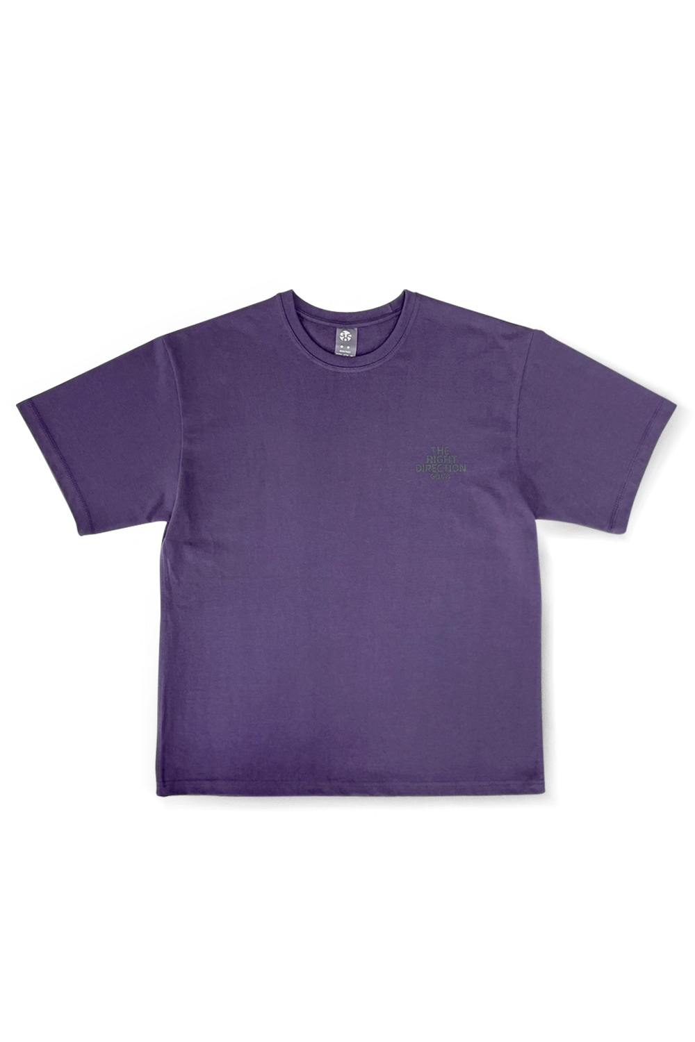 NIGHT / LOGO TEE / VIOLET